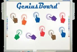 Lavagna Interattiva Multimediale GeniusBoard 10 tocchi