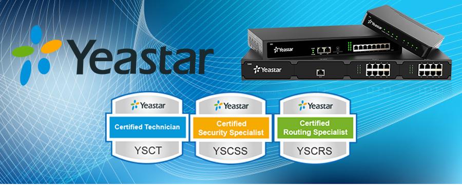 Certified Yeastar Specialist YSCT YSCSS YSCRS