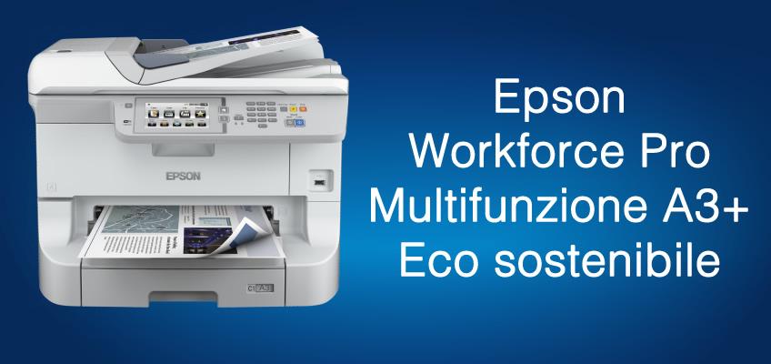 Epson Workforce Pro A3+ rende la stampa eco-sostenibile